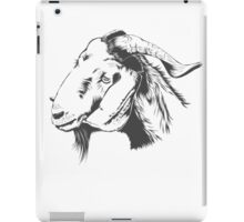 fUNNY Lovely Cute Goat Sketched iPad Case/Skin