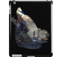 Lara Croft Helicopter (Wolf) iPad Case/Skin