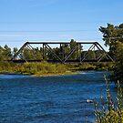 Northern Pacific Rail Bridge  by Bryan D. Spellman