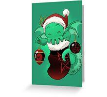 Stocking Stuffers: Cthulhu Greeting Card