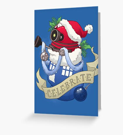 Stocking Stuffers: Celebrate! Greeting Card