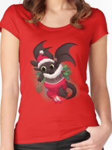 Stocking Stuffer: Toothy Women's Fitted Scoop T-Shirt