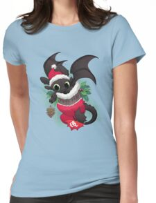 Stocking Stuffer: Toothy Womens Fitted T-Shirt