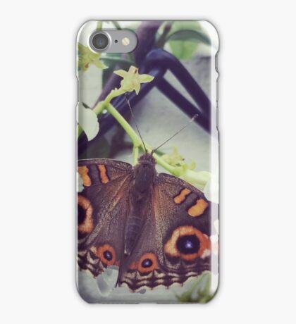 My little friend in the garden iPhone Case/Skin