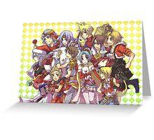 Fantasy Team Greeting Card