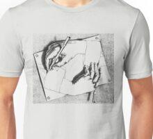 Souvenir from Netherlands - Escher's hands Unisex T-Shirt