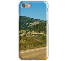 Montana Highway 1--The Pintlar Scenic Byway iPhone Case/Skin