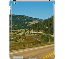 Montana Highway 1--The Pintlar Scenic Byway iPad Case/Skin