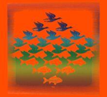 Souvenir from Netherlands:  Escher Kids Tee
