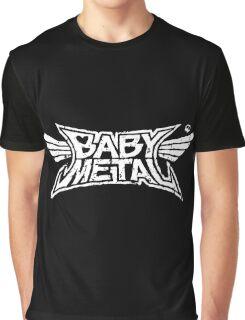 Babymetal - Logo en blanco Graphic T-Shirt