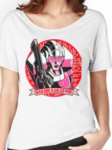 Bad Girls Wear Pink Women's Relaxed Fit T-Shirt