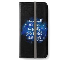 I have loved the stars too fondly iPhone Wallet/Case/Skin