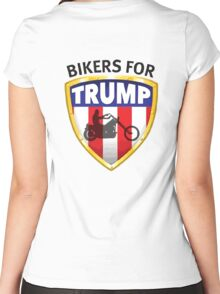 Bikers For Trump - 2016 Women's Fitted Scoop T-Shirt