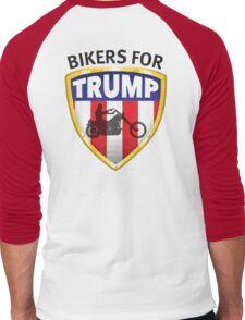 Bikers For Trump - 2016 Men's Baseball ¾ T-Shirt