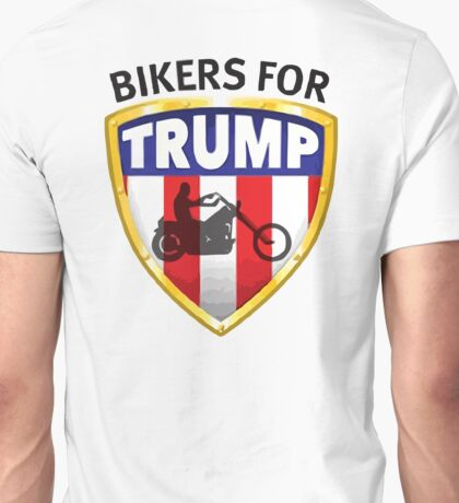 Bikers For Trump - 2016 Unisex T-Shirt