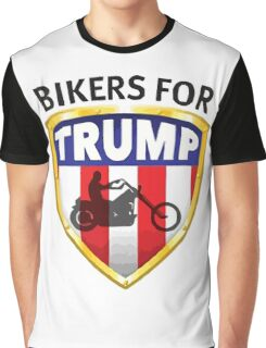 Bikers For Trump - 2016 Graphic T-Shirt