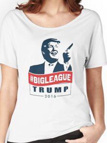 BIGLEAGUE - Donald Trump Women's Relaxed Fit T-Shirt