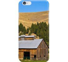 Granite County, Montana, Barn iPhone Case/Skin