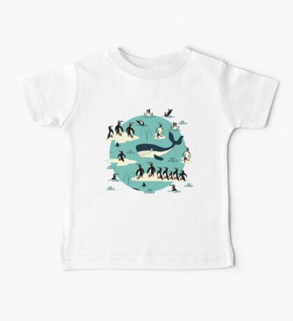 Whales, Penguins and other friends Baby Tee