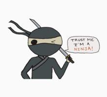 Trust me I'm a ninja  One Piece - Short Sleeve