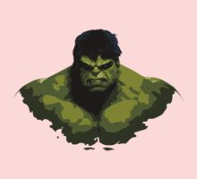 Fan Art - incredible hulk Kids Clothes