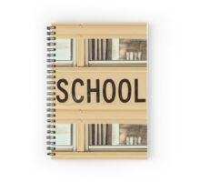 Back To School American Bus Style Spiral Notebook