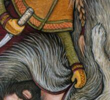 Wolfskin and the Huntress Sticker