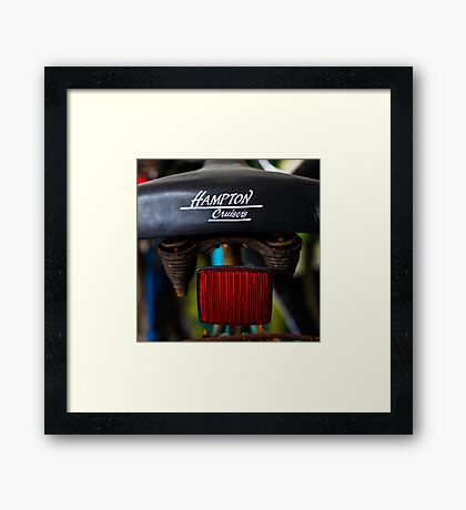 Hampton Cruiser Framed Print