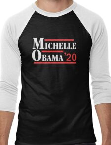 Michelle Obama 2020 Men's Baseball ¾ T-Shirt