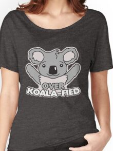 Over Koala-Fied Women's Relaxed Fit T-Shirt