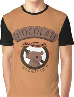 The unbearable sweetness of chocolate Graphic T-Shirt