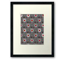 Holiday Reindeer Framed Print