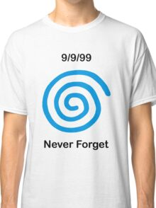 Dreamcast Never Forget (PAL) Classic T-Shirt
