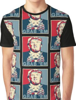 Trump Grab Em Poster Graphic T-Shirt