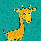 Giraffe by Silvia Neto
