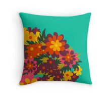 Flowers for Lola [big bunch] Throw Pillow