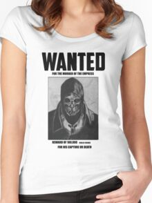 Dishonored Attano Corvo Wanted Women's Fitted Scoop T-Shirt
