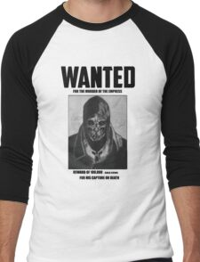 Dishonored Attano Corvo Wanted Men's Baseball ¾ T-Shirt