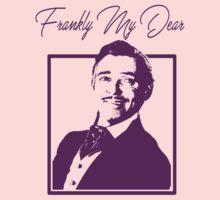 Rhett Butler - Frankly My Dear Kids Tee