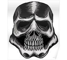 Trooper Skull Poster