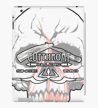 Cutthroat Killers Logo iPad Case/Skin