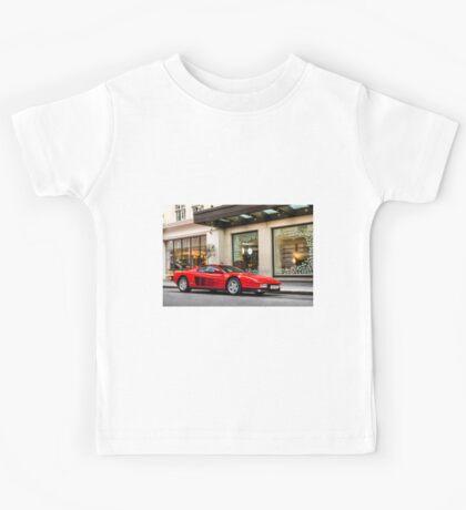 Ferrari Testarossa Kids Tee