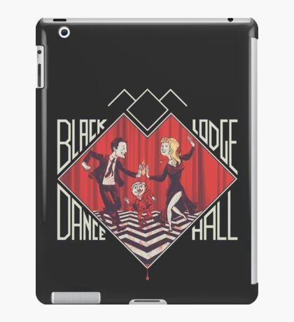 BLACK LODGE DANCE HALL iPad Case/Skin