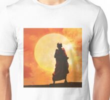 collage : young Buddhist monk Unisex T-Shirt