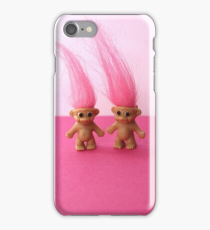 Pink Trolls iPhone Case/Skin