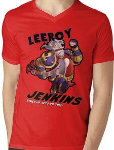 Leeory Jenkins: Time's Up! Mens V-Neck T-Shirt