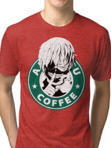 Tokyo Ghoul - Kaneki Ken Anteiku Coffee Tri-blend T-Shirt