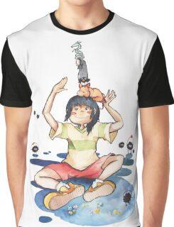 Chihiro's stack of friends Graphic T-Shirt