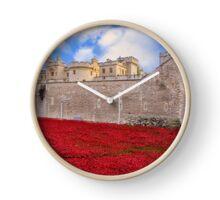 Tower Of London Poppy Display Clock