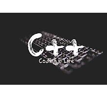 C++ Photographic Print